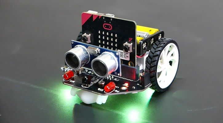 maqueen microbit rgb