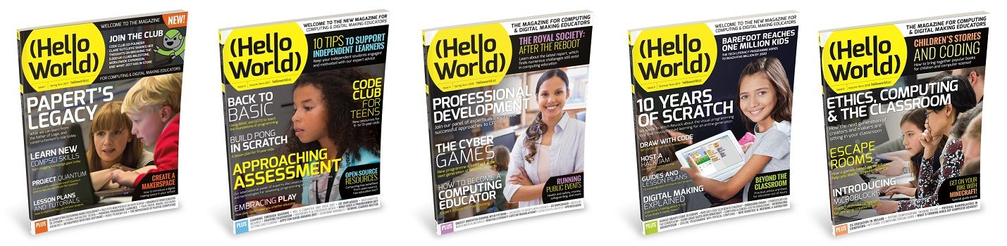 revista hello world