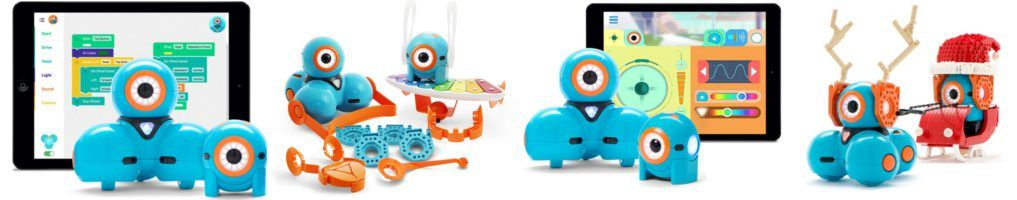 robots para niños dash and dot